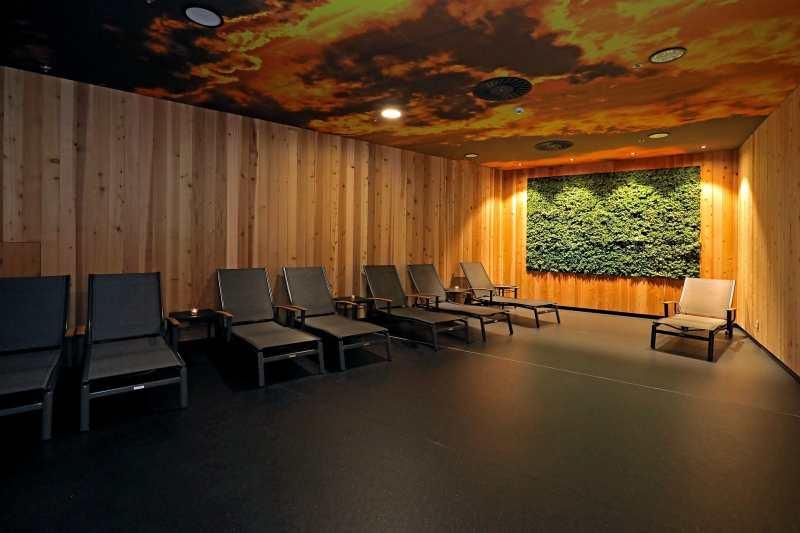 sauna w centrum handlowym
