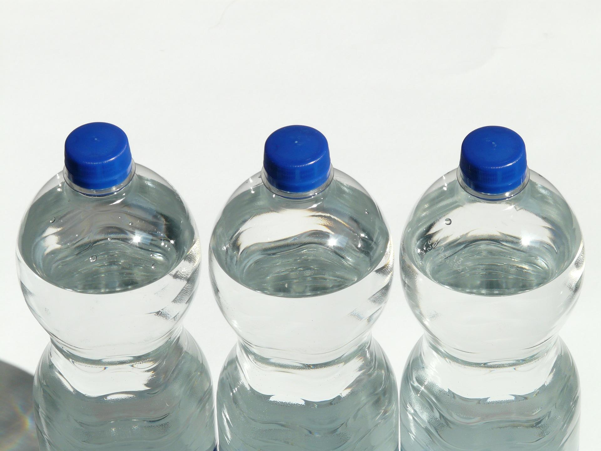 butelki w saunie