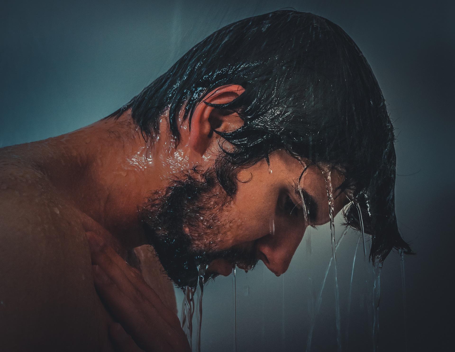 prysznic po saunie