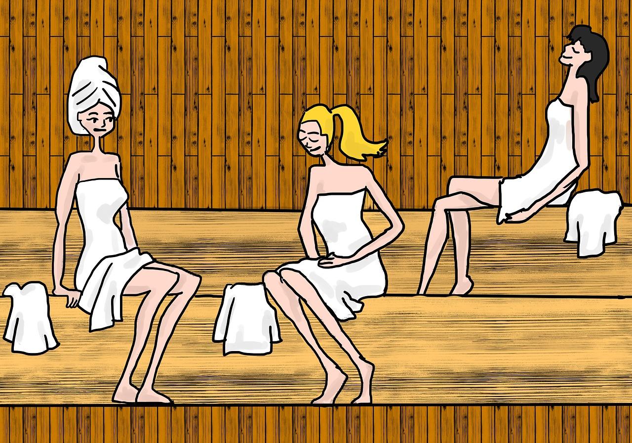 rozmowy w saunie
